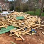 Debris Removal, Lake Norman, North Carolina