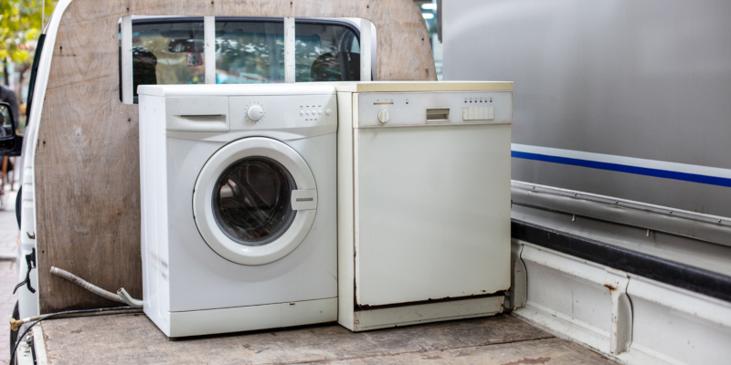 you to hire a professional for your appliance removal