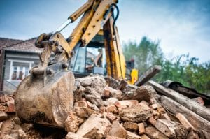 An experienced demolition company